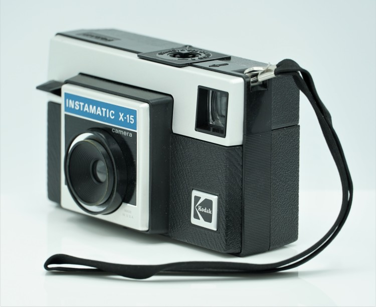 My First Camera // Kodak Instamatic X-15